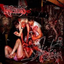 The Ravenous - Blood delirium - CD DIGIPAK