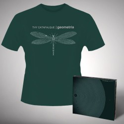 Thy Catafalque - Geometria - CD DIGIPAK + T-shirt bundle (Men)