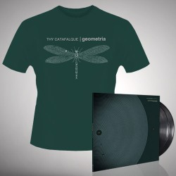 Thy Catafalque - Geometria - Double LP gatefold + T-shirt bundle (Men)