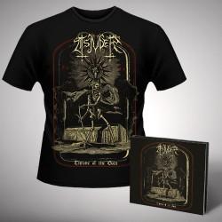 Tsjuder - Throne Of The Goat 1997-2017 - CD DIGISLEEVE + T-shirt bundle (Men)