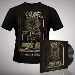 Tsjuder - Throne Of The Goat 1997-2017 - LP gatefold + T-shirt bundle (Men)