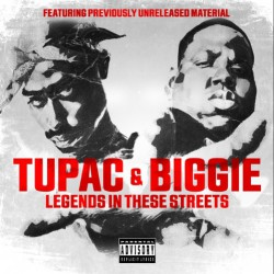 Tupac & Biggie - Legends In These Streets - CD