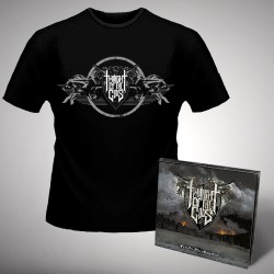 Twilight Of The Gods - Fire on the Mountain - CD DIGIPAK + T-shirt bundle (Men)