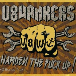 V8 Wankers - Harden The Fuck Up! - CD DIGIPAK