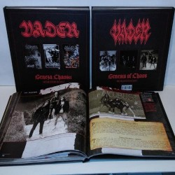 Vader - Genesis Of Chaos - BOOK + 3CD