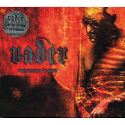 Vader - Impressions in Blood LTD Edition - DOUBLE CD SLIPCASE
