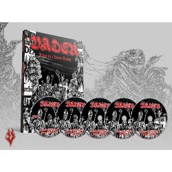 Vader - Live In Necro Reich - 4CD + DVD DIGIPAK