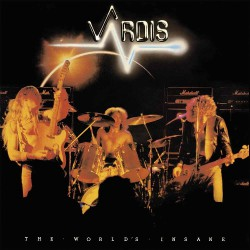 Vardis - The World's Insane - LP Gatefold Coloured