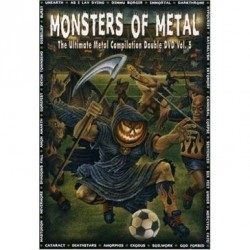 Various Artists - Monsters of Metal vol. 5 - DOUBLE DVD