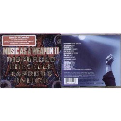 Various Artists - Music As A Weapon II - CD + DVD slipcase