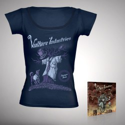 Vulture Industries - Stranger Times - CD DIGIPAK + Girlie T-shirt bundle