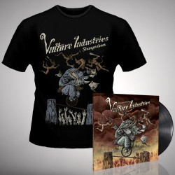 Vulture Industries - Stranger Times - LP gatefold + T-shirt bundle