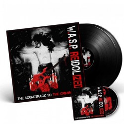 W.A.S.P. - Reidolized (The Soundtrack To The Crimson Idol) - DOUBLE LP GATEFOLD + DVD