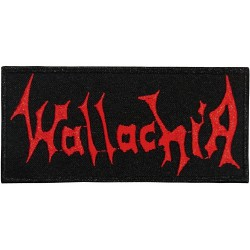 Wallachia - Red Logo - EMBROIDERED PATCH