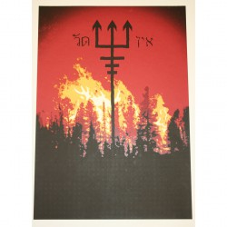 Watain - Part 3 Of 10 Of The Watain Poster Series - Screenprint