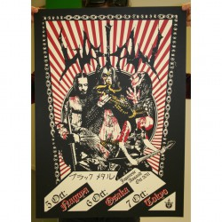Watain - Part 5 Of 10 Of The Watain Poster Series - Screen print