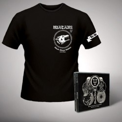 Watain - Satanic Deathnoise From The Beyond - The First Four Albums - CD BOX + T-SHIRT