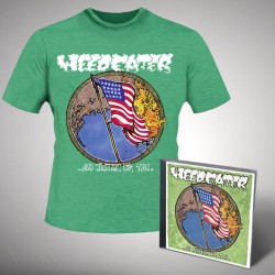 Weedeater - Justice Green - CD + T-shirt bundle (Men)