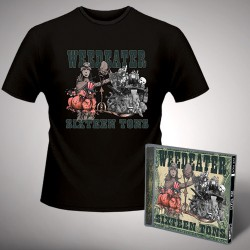 Weedeater - Sixteen Tons - CD + T-shirt bundle (Men)