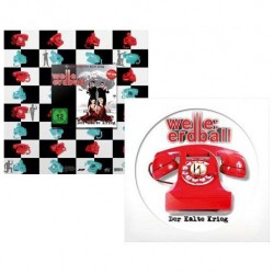 Welle Erdball - Der Kalte Krieg - LP PICTURE + CD + DVD SLIPCASE