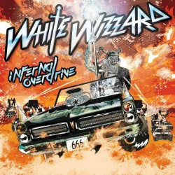 White Wizzard - Infernal Overdrive - DOUBLE LP GATEFOLD COLOURED