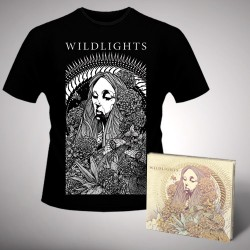 Wildlights - Wildlights - CD DIGIPAK + T-shirt bundle (Men)