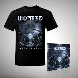 Wormed - Metaportal - CD EP DIGIPAK + T-SHIRT (Men)