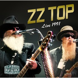 ZZ Top - Live 1991 - Classic Radio Broadcast - CD