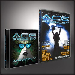 Ace Frehley - Anomaly + Behind the Player - CD + DVD BUNDLE