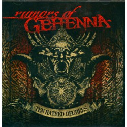 Rumors Of Gehenna - Ten Hatred Degrees - CD