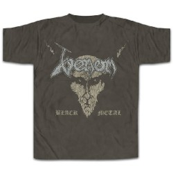 Venom - Black Metal [distressed] - T-shirt (Men)