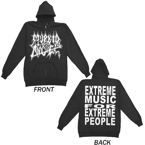Hooded Morbid Extreme Music Shirt Zip Angel homme Sweat wtgTt1vqx