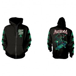 Alestorm - Pirate Pizza Party - Hooded Sweat Shirt Zip (Homme)