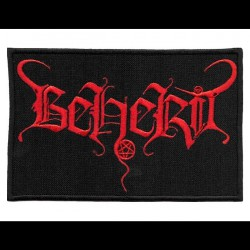 Beherit - Logo - EMBROIDERED PATCH