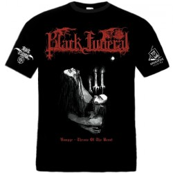 Black Funeral - Vampyr - Throne Of The Beast - T-shirt (Homme)