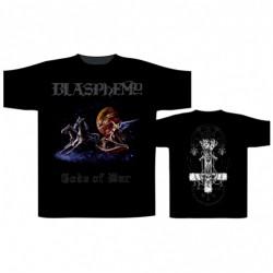 Blasphemy - Gods Of War Reissue - T-shirt (Homme)