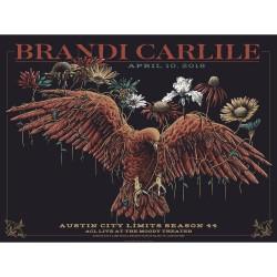 Brandi Carlile - Austin City Limits Season 44 - Lithograph