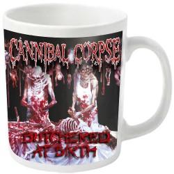 Cannibal Corpse - Butchered (White) - MUG