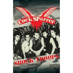 Cock Sparrer - Shock Troops - CASSETTE COLOURED
