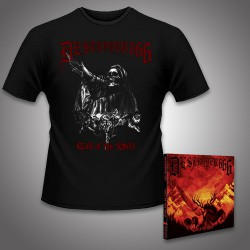 Deströyer 666 - Call Of The Wild - CD DIGIPAK + T-shirt bundle (Homme)