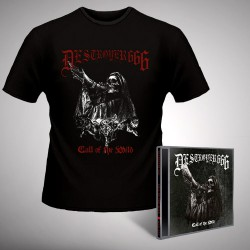 Deströyer 666 - Call Of The Wild - CD EP + T-SHIRT (Homme)