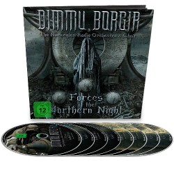 Dimmu Borgir - Forces Of The Northern Night - 4CD + 2 Blu-ray + 2 DVD earbook