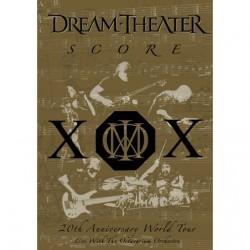 Dream Theater - Score: 20th Anniversary World Tour - DOUBLE DVD