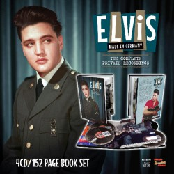 Elvis Presley - Made In Germany – The Complete Private Recordings - 4CD + BOOK