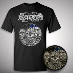 "Festerday - Cadaveric Virginity - Picture 7"" EP + T-shirt (Homme)"