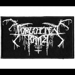 Forgotten Tomb - Logo - EMBROIDERED PATCH