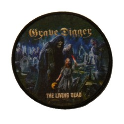 Grave Digger - The Living Dead - Patch