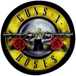 Guns N' Roses - Bullet Logo - BACKPATCH