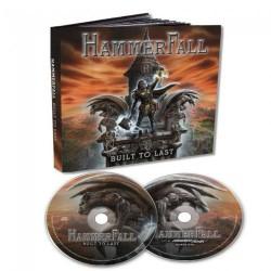 HammerFall - Built To Last - CD + DVD digibook