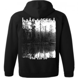 Hate Forest - The Curse - Hooded Sweat Shirt Zip (Homme)